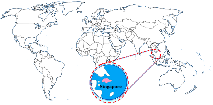 95 ideas map of the world with singapore on singapur un pequeo gran pas los viajes de mary gumiabroncs Images