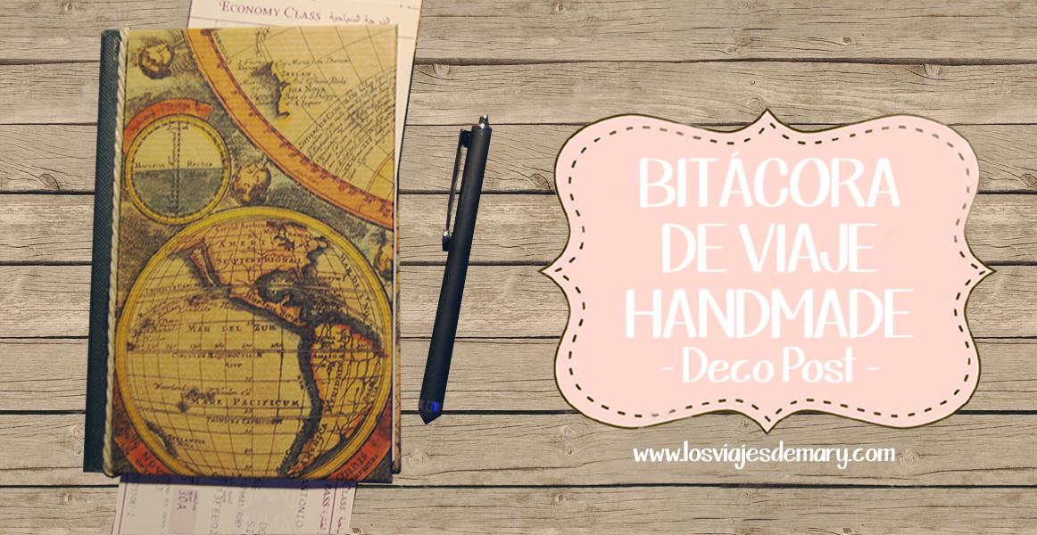 DIY | Bitácora de viaje handmade