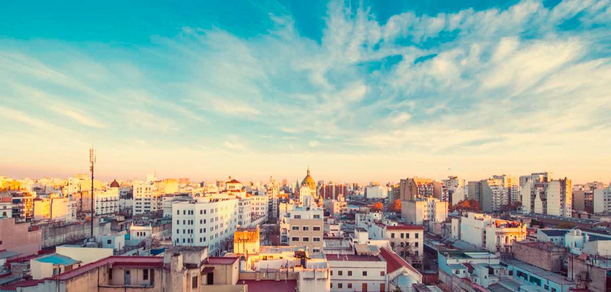 Buenos Aires desde las alturas